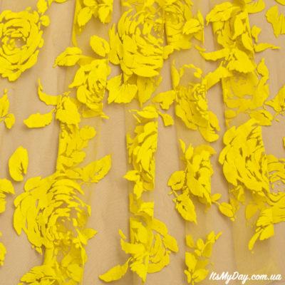 Флок желтый
