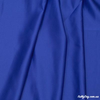 Атлас ярко синий