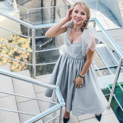 Гліттер на сукню
